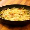 Рецепт свинины в омлете
