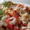 Рецепт приготовления лосося в майонезе с помидорами