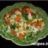 Лёгкий салатик из свежей капусты с изюмом