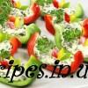 Украшение стола болгарским перцем с салатом рецепт