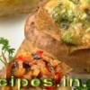 Запечённый картофель с брокколи