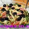 Итальянский салат с сыром