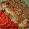Рецепт гречки с курицей