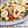 Салат из яиц с луком