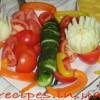 Как оформить овощи для праздничного стола