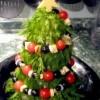 Рецепт салата в форме ёлки для Нового года