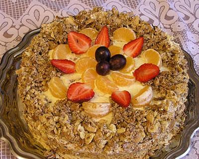 Торта кофейный наполеон рецепты