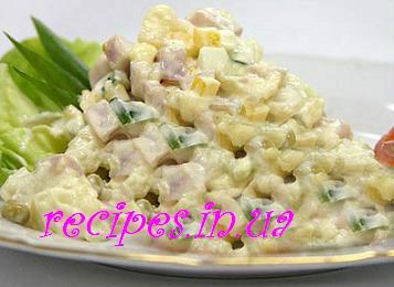 Как приготовить салат оливье с мясом и