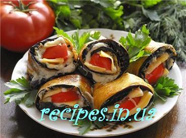 Рецепт тёщин язык из баклажанов с помидорой и грибами