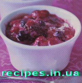 Рецепт десерта из фруктов