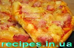 """Рецепт """"Гавайской"""" пиццы"""