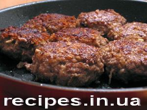 рецепты домашних котлет из говядины с фото