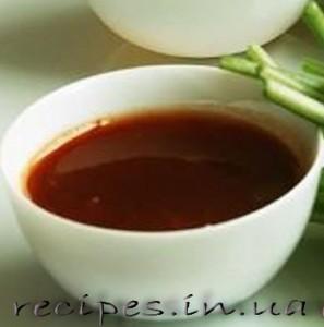 Рецепт кислого соуса