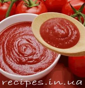 Рецепт томатного соуса