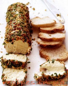 Рецепт сыра с орехами