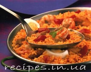 Рецепт испанской паэльи с морепродуктами