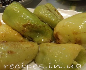Рецепт болгарского жареного перца с чесноком