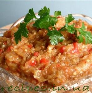 Рецепт приготовления икры из баклажанов