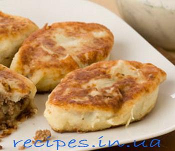 Как приготовить картофельники из пюре с мясом
