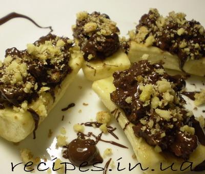 Рецепт бананового десерта