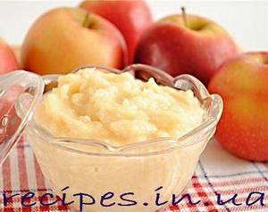 Домашнее яблочное пюре в домашних условиях на зиму