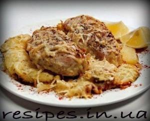 Приготовление куриных грудок со сливками и сыром